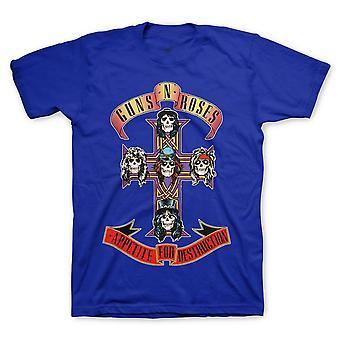 Guns n' roses | cross t-shirt