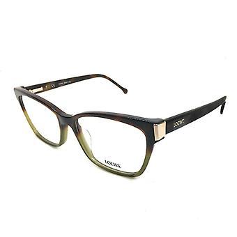 Ladies'Spectacle frame Loewe VLW976M530GEN Green (ø 53 mm)