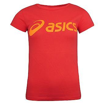 Asics kortermet rundt halsen coralicious t-skjorte dame topp 122863 0552