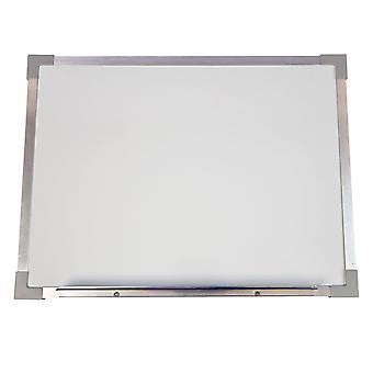 "Aluminum Framed Magnetic Dry Erase Board, 18"" X 24"""
