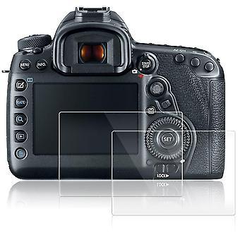 Afunta Bildschirmprotektoren für Canon eos 5d mk iv Mark 4, 2 Packungen Anti-Kratzgehärtetes Glas protecti