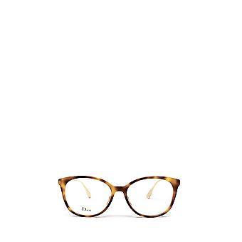 Dior DIORSIGHTO1 havana female eyeglasses