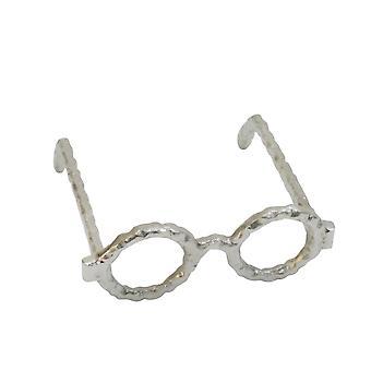 Aluminum Glasses Sculpture, Silver