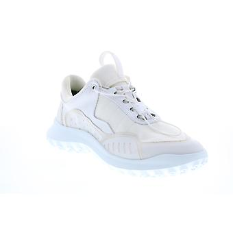 Camper CRCLR  Mens White Leather Lace Up Euro Sneakers Shoes