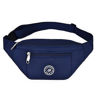 Taška na hruď Nylon Waist Bag & Belt Bag, Barevné Bum Bag / cestovní kabelka Telefon Taška
