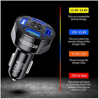 Fast Car Charger 4-Port USB 3.1A For iPhone iPad Samsung Socket Adapter