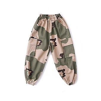 Kid Hip Hop Clothing Sweatshirt Crop Top Long Sleeve & Camouflage Streetwear
