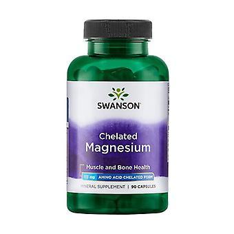 Chelated Magnesium, 133mg 90 capsules