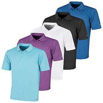 Island Green Mens 2021 IGTS2086 Micro-Pique CoolPass Polo Shirt