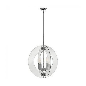 Lámpara Colgante Solstrice, Cromo Pulido, 63 Cm