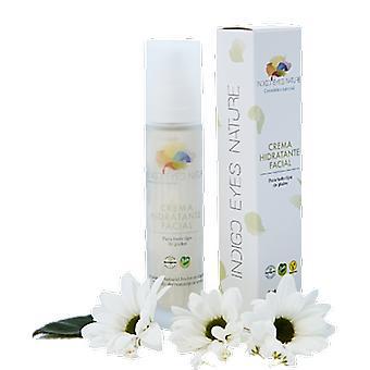 Indigo Eyes Nature Crema Hidratante Facial Aceite de Cáñamo, sésamo & argán 50 ml