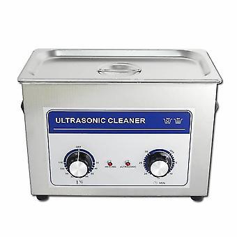 4.5l المهنية آلة نظافة بالموجات فوق الصوتية مع الموقت الميكانيكية ساخنة الفولاذ المقاوم للصدأ تنظيف خزان 110v/220v