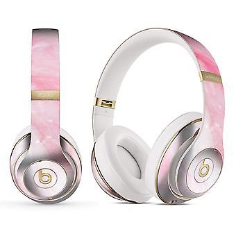 Marbleized Pink Paradise V6 - Full Body Skin Decal Wrap Kit For Beats