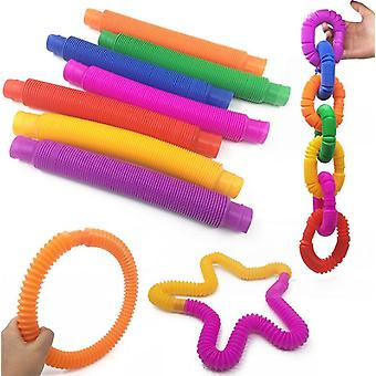 Color Rodent Pioneer Pop Tube Telescopic Tube Children Adult Vent Decompression Toy