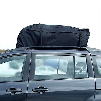 سقف السيارة أعلى حقيبة الرف البضائع (أسود)