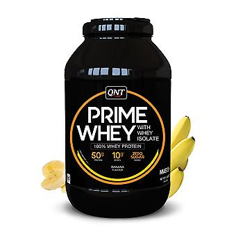 QNT Prime Whey Protein Powder 100% Whey Isolate - 2kg - Banana