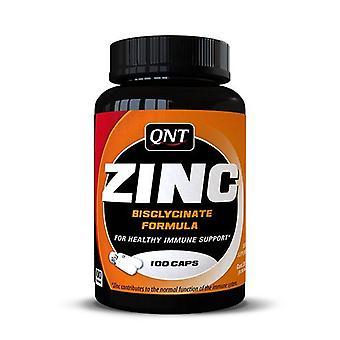 QNT Zinc Skeletal Muscle Rebuild Immune System Support Diet Supplement -100 Tabs