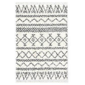 vidaXL Berbert Carpet High Pile PP Beige and Grey 80×150 cm