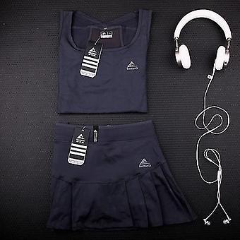 Women Tennis Skirts With Built-in Short, Women's Yoga Sports Short