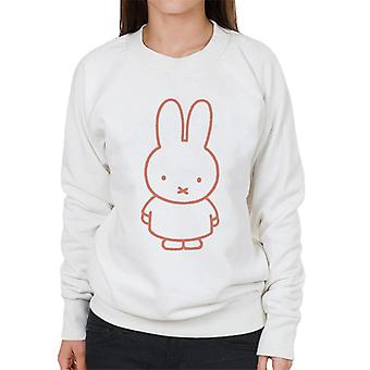 Miffy Red Outline Women's Sudadera