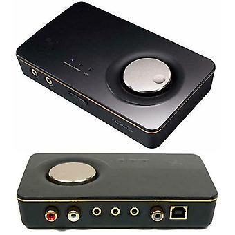 Asus XONAR U7 MKII  7.1 USB DAC with Headphone Amplifier USB Sonic Studio Software