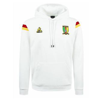 2021-2022 Cameroon Presentation Hoody (White)