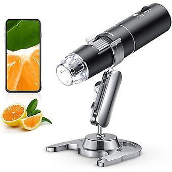 FengChun Drahtloses Digitales Mikroskop, 50X bis 1000X WiFi Handes Vergregehaltenrung Endoskopkamera