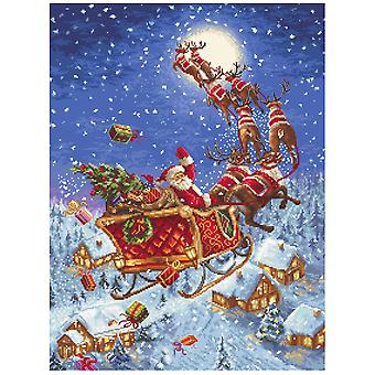 Letistitch Cross Stitch Kit - The Reindeers On Its Way (Leti958)