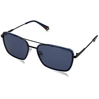 Polaroid PLD 6115/s-siniset lasit, PJP/C3 Sininen, 56 Miesten