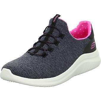 Skechers מענג ספוט 149185BLACK אוניברסלי כל השנה נעלי נשים