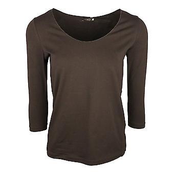 Crea Concept Black Long Sleeve Cotton Base Layer T-shirt
