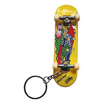 Santa Cruz Screaming Hand Keychain - Yellow