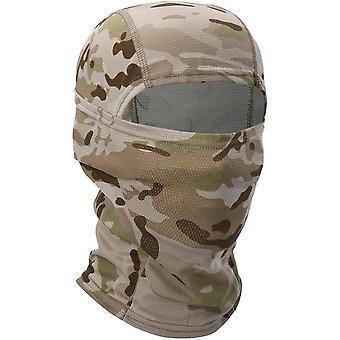 Multicam Cp Camouflage plná tvár šatka vojenská taktická čiapka