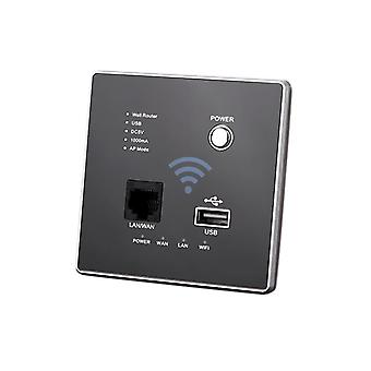 Router de perete cu soclu USB