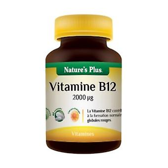 Vitamin B12 2000 μg Extended Release 60 tablets