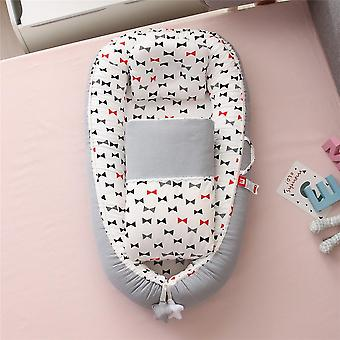 Portable Baby Nest Mesh Toddler Bed