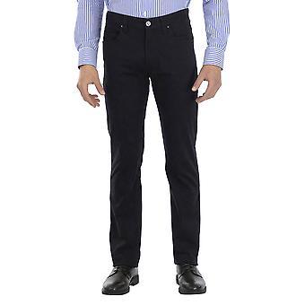 Armani Jeans Men Pants Straight leg Ankle lenght  Blue