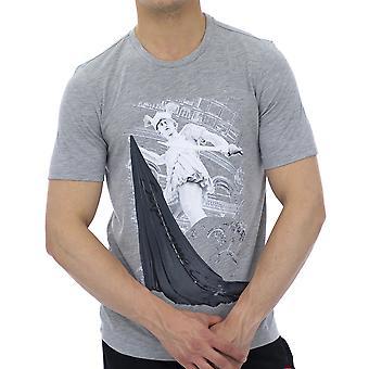 Supreme Grip Men T-Shirt Aston Grey