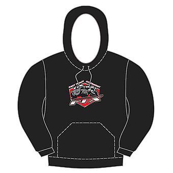 Ftx Badge Logo Brand Pullover Hoodie Black - Medium