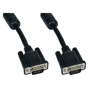 CablesDirect CDEX-701K - 1M SVGA M-M CONNECTED BL
