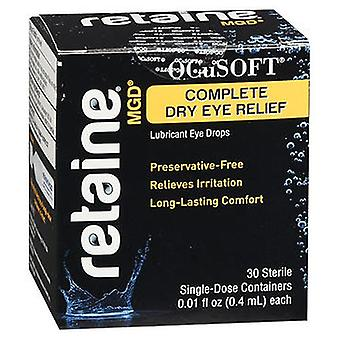 Retaine Retaine MGD Complete Dry Eye Relief Lubricant Eye Drops, 30 Each
