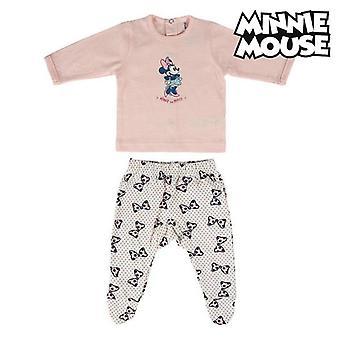 Baby Pyjama Minnie Maus Pink