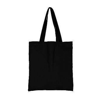 Señoras Bolsos de Tela Tela Tote Bag Negro
