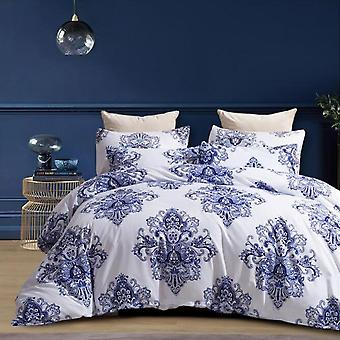 Mimigo Printed Quilt Cover Comforter Set Twin 3 Piece Bed Sets  Ultra Soft Microfiber Bedding For Bedroom Twin/queen/king Size Quilt Set With Pillow S