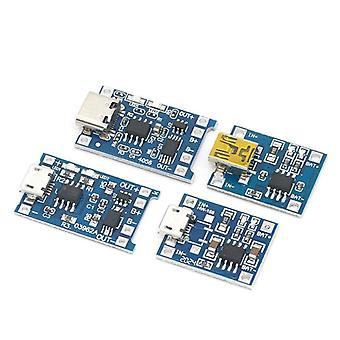 Micro Usb Lithium Battery Charger, Module Charging Board With Protection, Dual