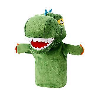 Dinosaurier Handpuppe Stofftier Puppe Plüsch Spielzeug für Vorschule Storytelling, Pretend Play