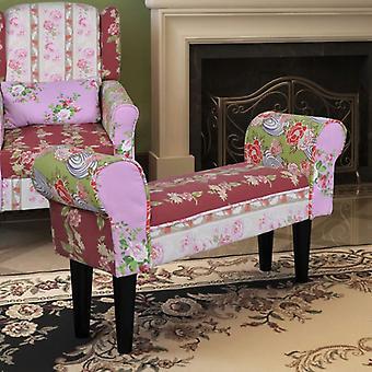 مقاعد البدلاء مقعد القطن الملونة الترقيع الجناح