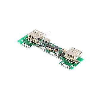5v 2a Usb Module/ Power Bank oplaadbord met Led Indicator