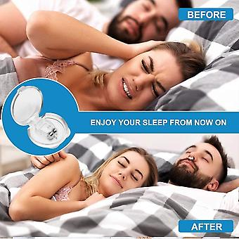 4 Pieces Of Silicone Magnetic Snoring Stopper