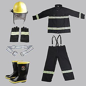 Ignifugă De înaltă temperatură mănuși de protecție împotriva incendiilor pantofi Costum de cască